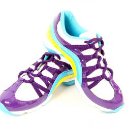 Bloch Dance Trainer Wave Multi Purple