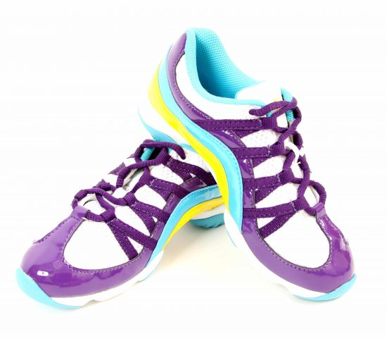Bloch Dance Trainer Wave Multi Purple