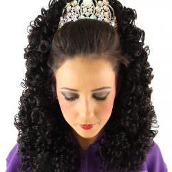 Brogan Split Curl Long Wig