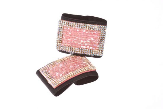 Diamond & Crystal Buckles Pink