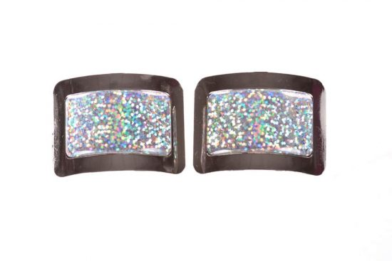 Disco Buckles Disco White