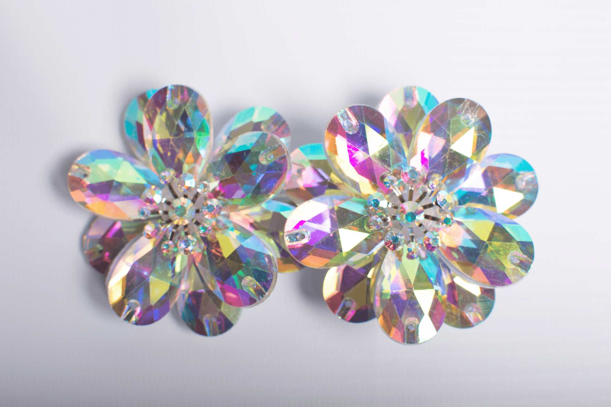 Double Diamond Flowerclip