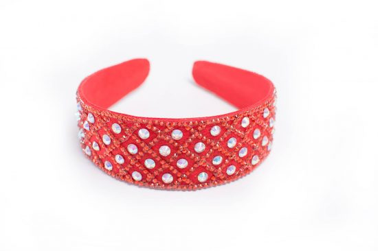 Elsa Hairband Red