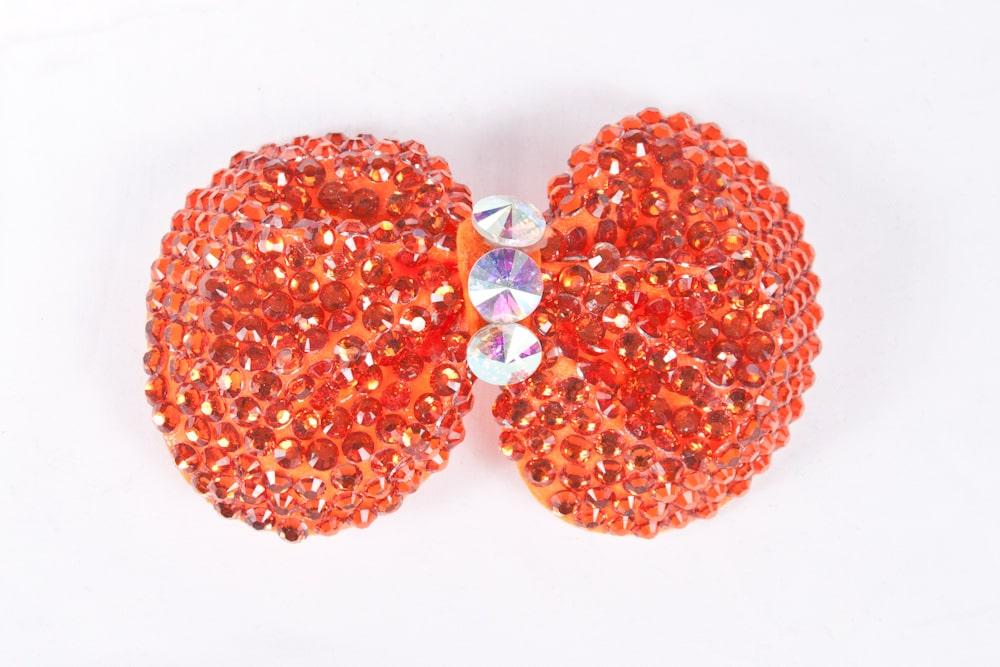 Minnie Bow Orange