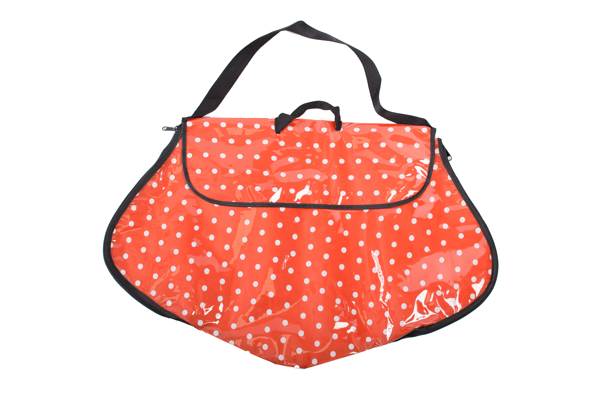 Polka Dot Dress Bag Orange