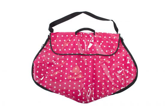 Polka Dot Dress Bag Pink 550x367