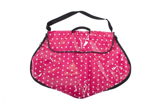 Polka Dot Dress Bag Pink