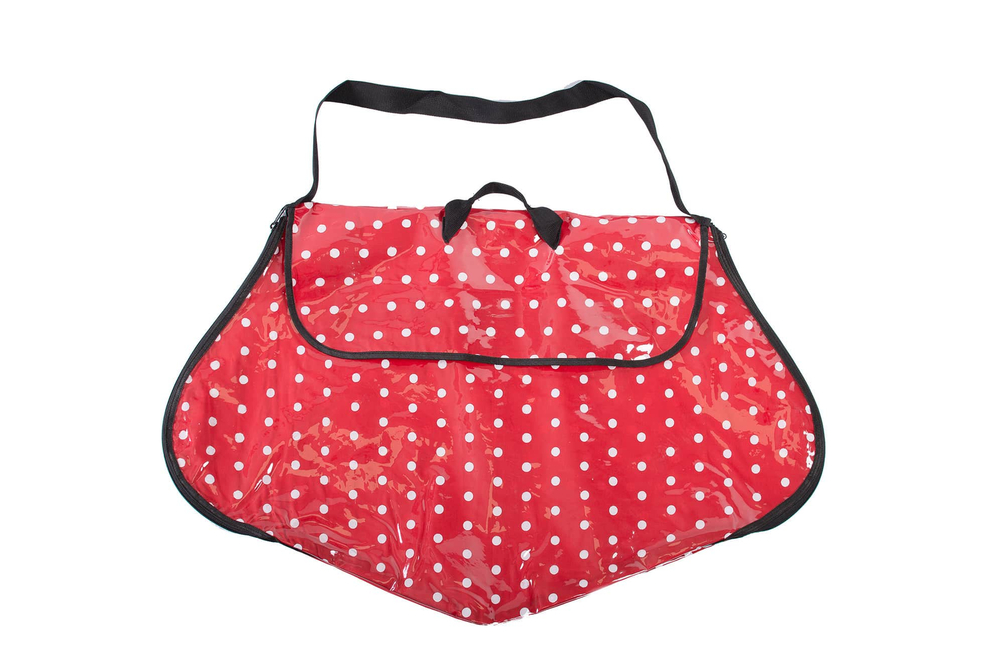 Polka Dot Dress Bag Red