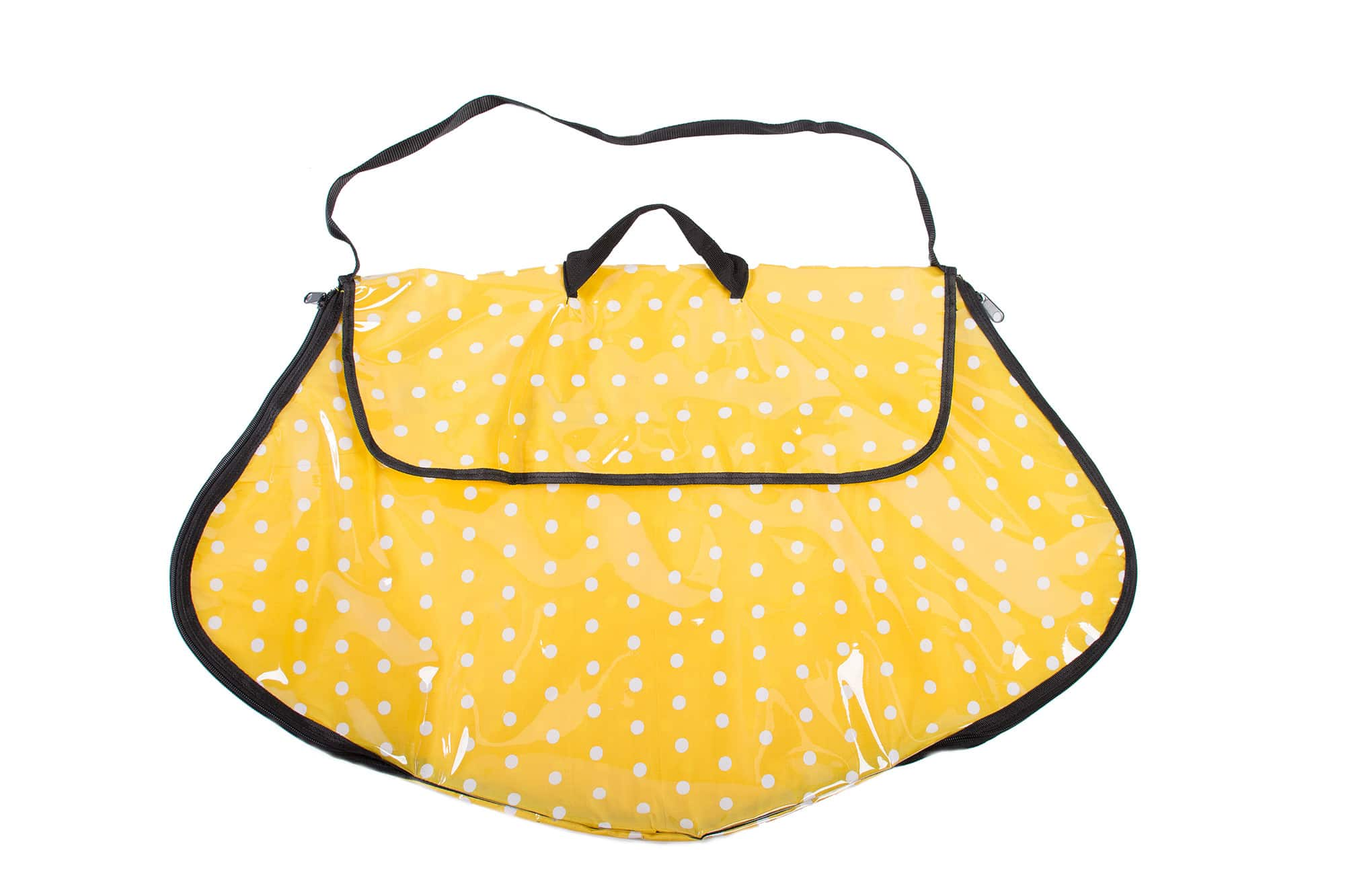 Polka Dot Dress Bag Yellow