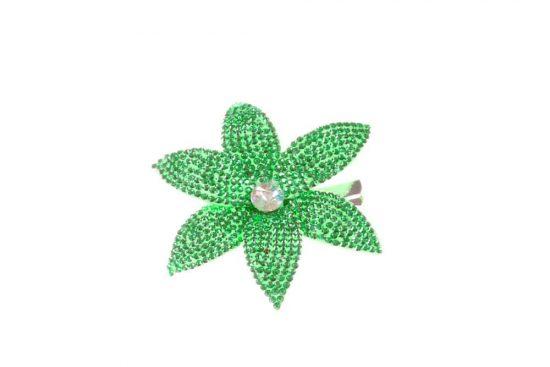 Star Single Peacock Green