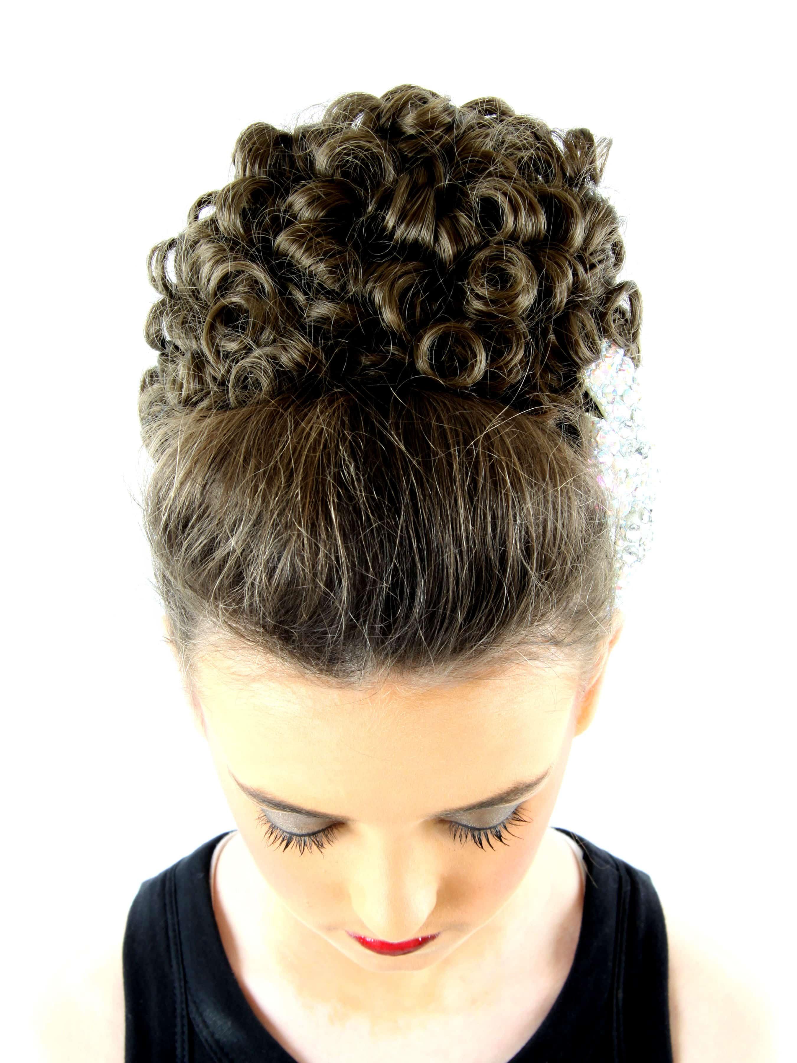 The Original Katie Ringlet Bun Wig