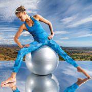 Tri Dye Womens Performance Leggings