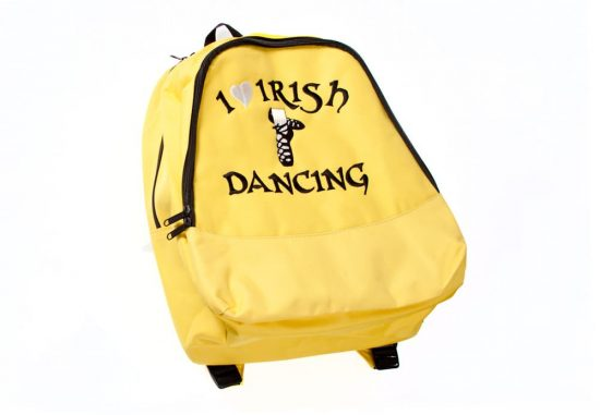 Two Strap Backpack Yellow