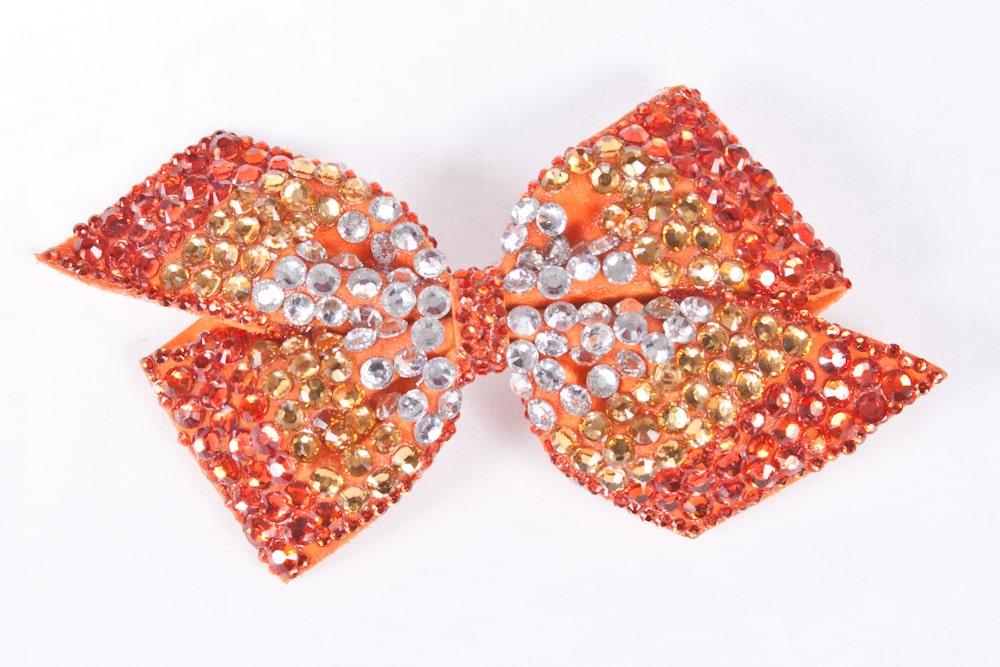 Cinders Bow Orange