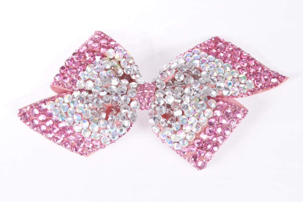 Cinders Bow Pale Pink