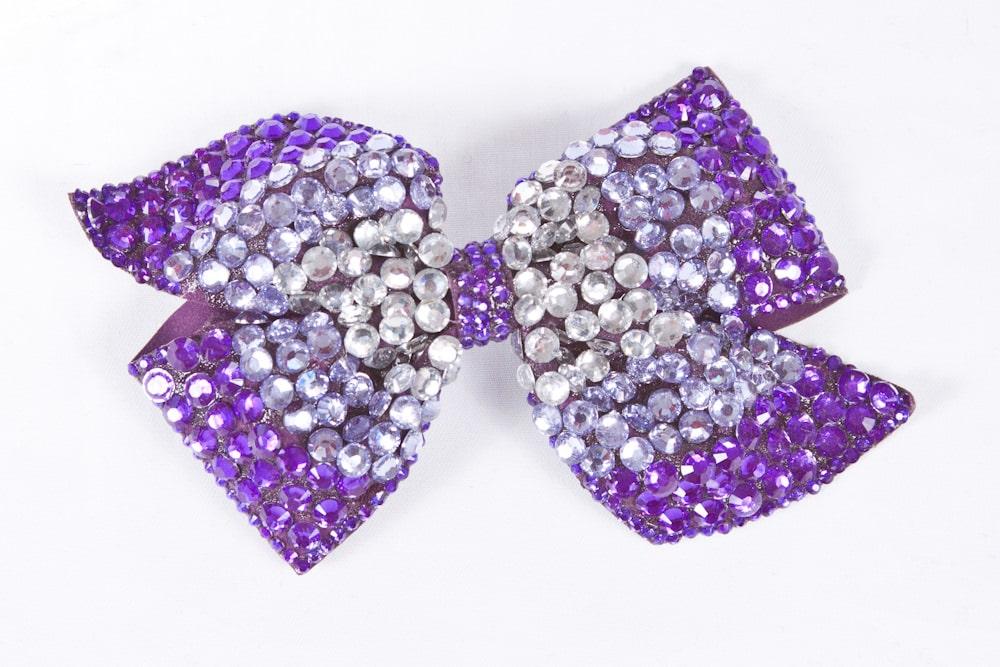 Cinders Bow Purple