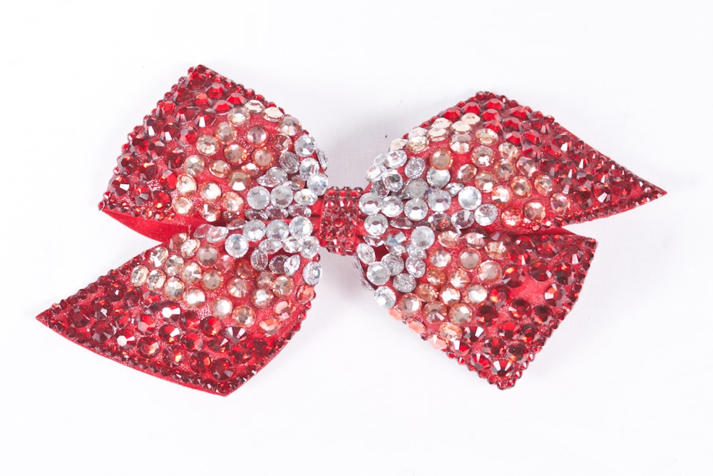 Cinders Bow Red