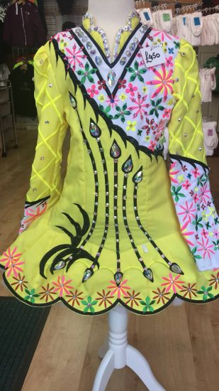 Yellow Multicoloured Dress