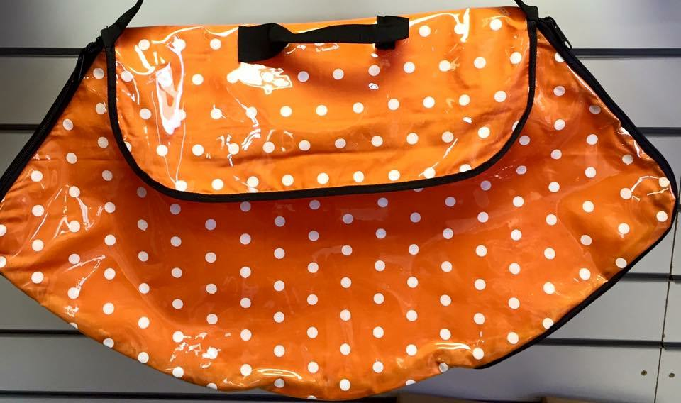 Polka Dot Costume Bag orange