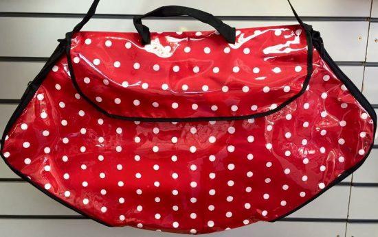 Polka Dot Costume Bag Small red