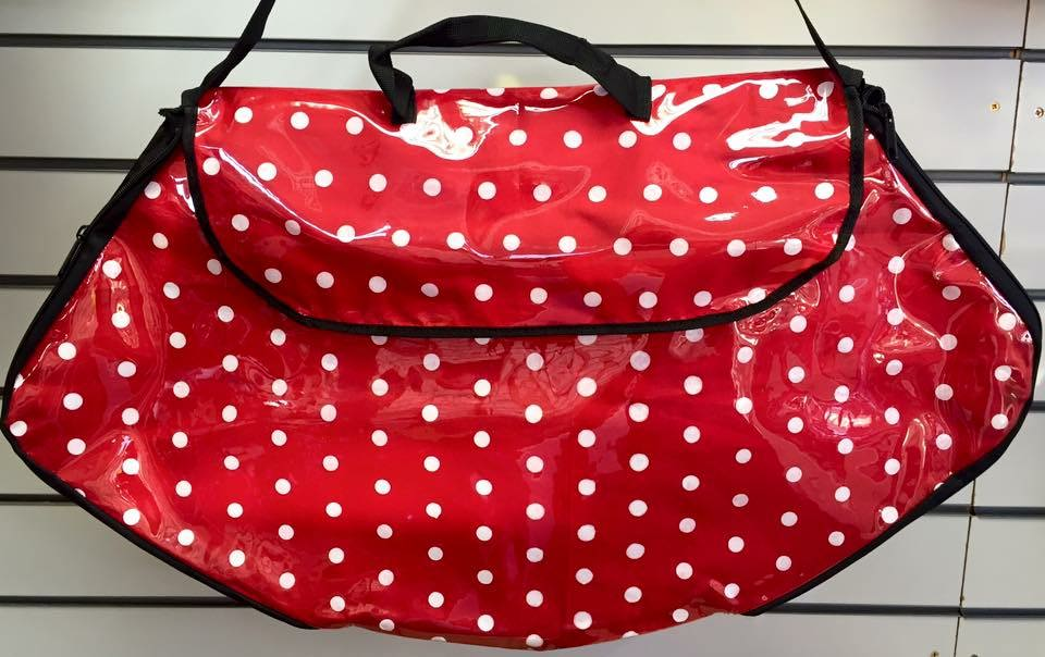 Polka Dot Costume Bag Small red