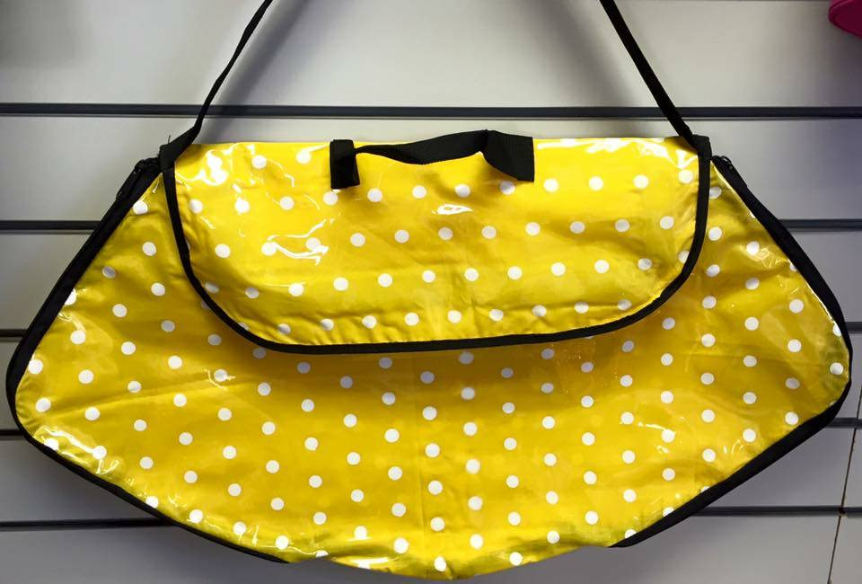 Polka Dot Costume Bag yellow