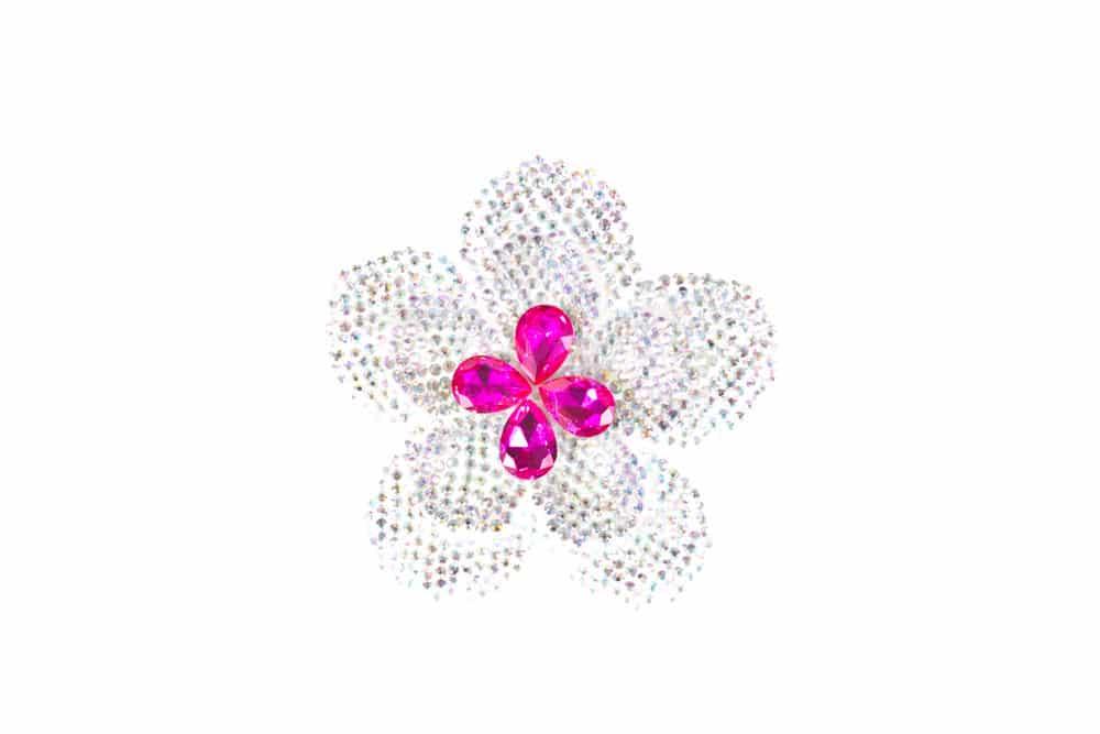 Round Flower Ab Pink