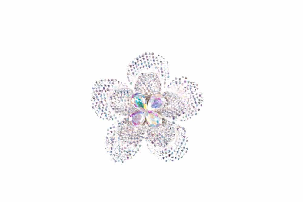 Round Flower Single Ab